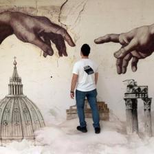Truly Urban Artists, Aeroporto di Fiumicino