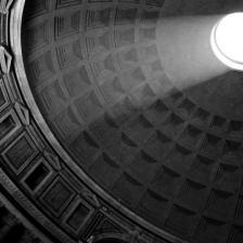 "Pantheon Ph. Alberto Calderoni/concorso fotografico Touring ""Monumenti d'Italia"""