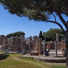 Parco Archeologico di Ostia Antica, Terme del Foro, foto @scavidiostia