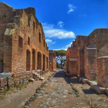 Parco Archeologico di Ostia Antica, Casa di Diana, foto @scavidiostia