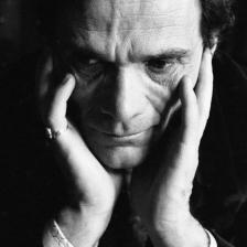 Sandro Becchetti, Pier Paolo Pasolini, Roma, 1971