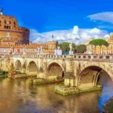 Il Tevere - Ponte Sant'Angelo