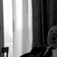 Sandro Becchetti, Alfred Hitchcock, Roma, 1972