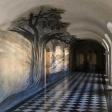 Convento di Trinità dei Monti, anamorfosi