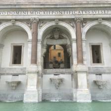 Fontanone del Gianicolo - Foto @Fendi