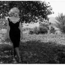 Marylin Monroe sul set di Misfits, Nevada 1960 © Fotohof archiv Inge Morath Foundation Magnum Photos
