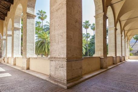 Loggia del colonnato di Palazzo Venezia
