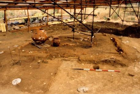 Casa protostorica di Fidene foto Sovrintendenza archeologica