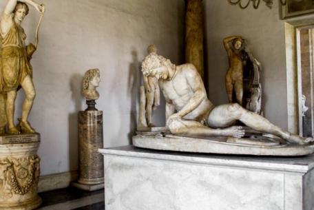 Palazzo Nuovo - Sala del Gladiatore