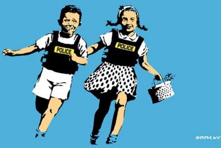 Jack & Jill - blue (Police Kids), 2005
