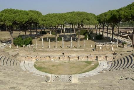 Teatro romano di Ostia Antica