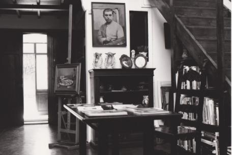 Studio del pittore Francesco Trombadori