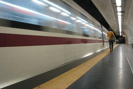 Metropolitana di Roma - foto di Roma Mobilità su Facebook
