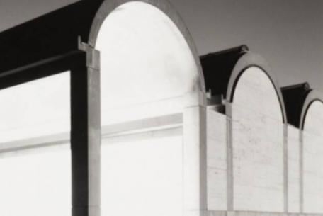 Dettaglio, Roberto Schezen, Louis Kahn, Kimbell Art Museum. Forth Worth, Texas, (1966-72), 2001 ca