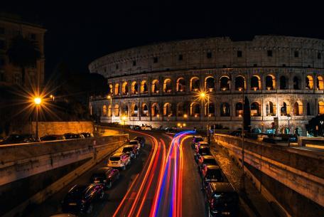 Vita notturna a Roma
