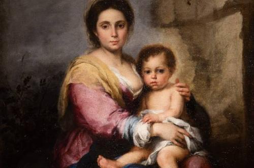 Madonna del Latte, particolare - foto Alberto Novelli