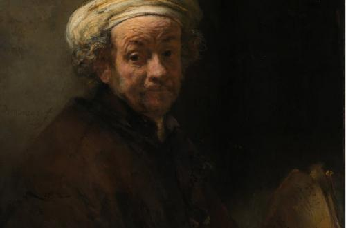 Rembrandt, Autoritratto come San Paolo, Foto Account Ufficiale Facebook Barberini Corsini