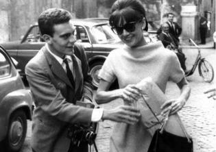 Audrey Hepburn e Rino Barillari
