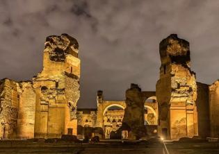Aperture serali Terme di Caracalla-Foto Soprintendenza Speciale di Roma