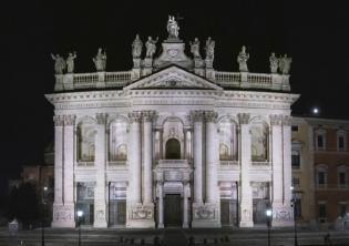 Basilica di San Giovanni in Laterano nuova illuminazione