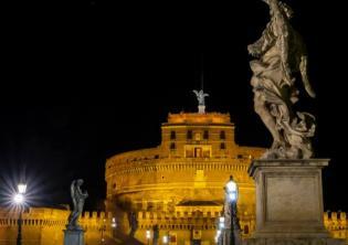 Castel Sant'Angelo nuova illuminazione @Acea