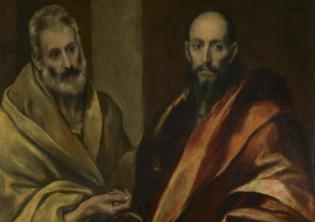Domenico Theotokopoulos (El Greco), Santi Pietro e Paolo, 1587-1592, Hermitage State Museum