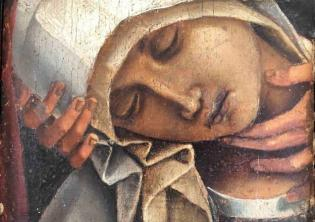 Settimo frammento del Compianto sul Cristo morto di Luca Signorelli