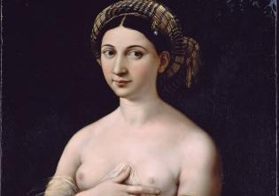 La Fornarina - Raffaello Sanzio, Palazzo Barberini - Gallerie Nazionali di Arte Antica