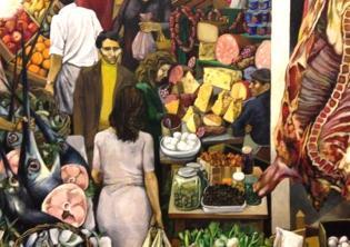 La Vucciria - Renato Guttuso, 1974