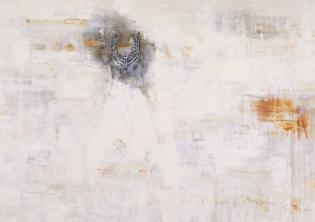 Pizzi Cannella, Le perle, 2019, tecnica mista su tela, cm. 155×200