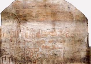 Colosseo. Concluso il restauro al dipinto murale con veduta ideale della città di Gerusalemme