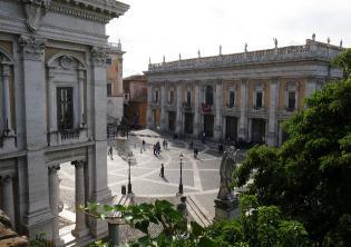 PIazza del Campidoglio - Musei Capitolini