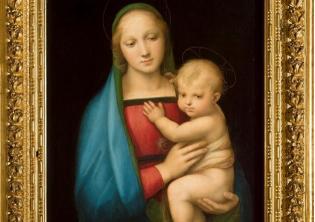 Photo credits: Madonna del Granduca, 1506 -1507 ca, Gallerie degli Uffizi, Firenze