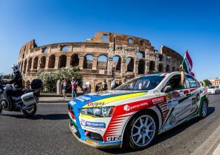 Rally Roma Capitale Thomas Fenetre / DPPI