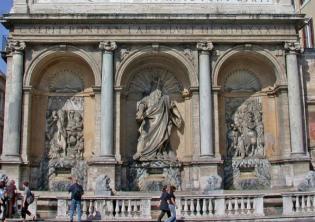 Restauro Fendi Fontana del Mosè