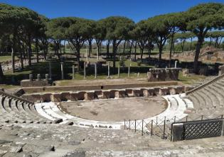 Foto profilo ufficiale Facebook Parco Archeologico di Ostia Antica